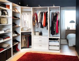 Oddzielna garderoba